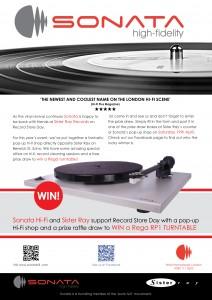 Sonata's RSD14 Rega prize draw