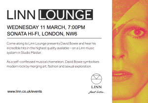 Sonata presents a David Bowie Linn Lounge