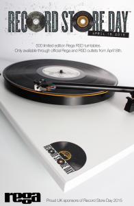 Rega RSD turntable 2015